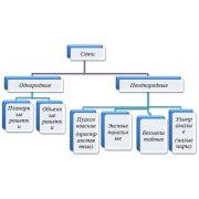 Однородные и неоднородные структуры сетей